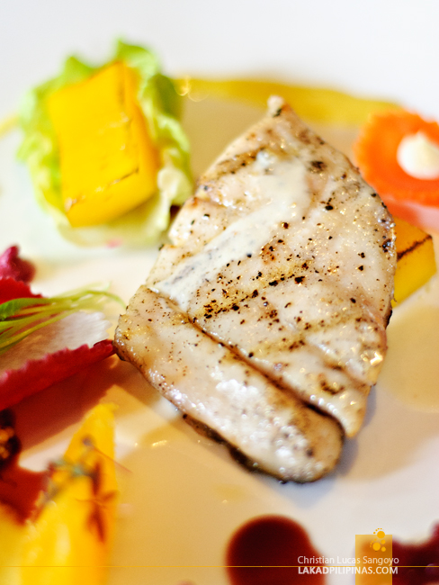Chargrilled Fish Fillet at 137 Pillars House in Chiang Mai