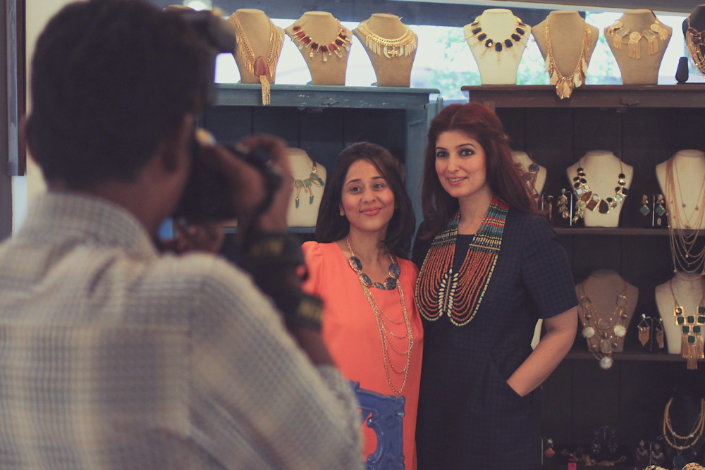 The white window pop up shop twinkle khanna raya for Interior designs by twinkle khanna