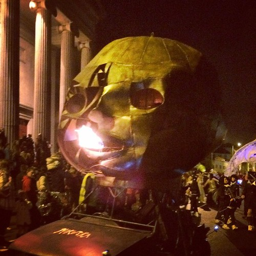 Fire-breathing baby head? #dragonofshandon #halloween #creepy