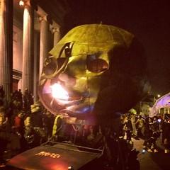 Fire-breathing baby head? #dragonofshandon #halloween #creepy
