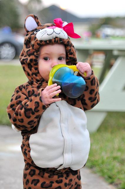 Mabry as a Leopard
