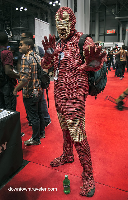 NY Comic Con 2014 Chain Link Iron Man