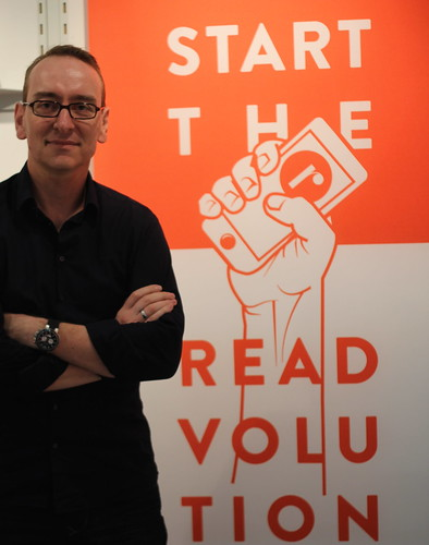 Frank Großklaus (Readfy) - Frankfurt Buchmesse 2014