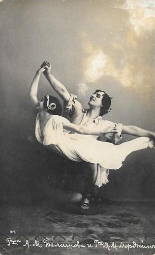 Alexandra Balashova, Mikhail Mortkin