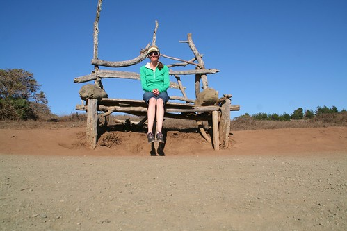 Rest Stop in the Giant Wooden Chair