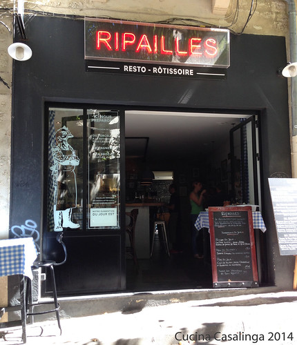 Montpellier Ripailles Eingang