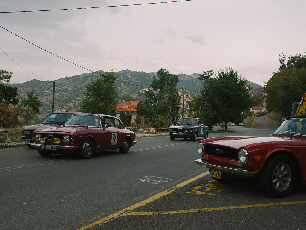 Cars in Dimitsana