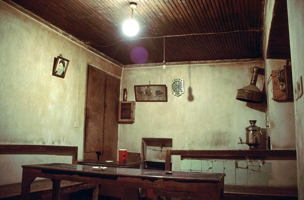 Road trip en Iran - Dans la maison de thé
