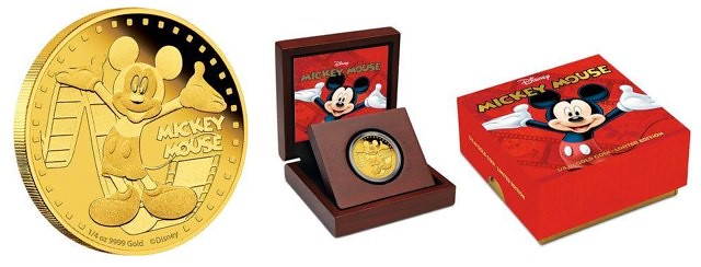 Niue Micky Gold Coin