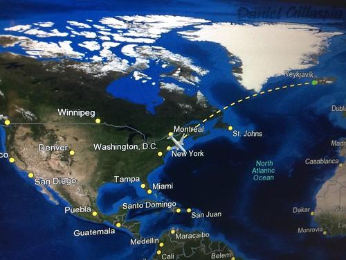 Iceland Air Map