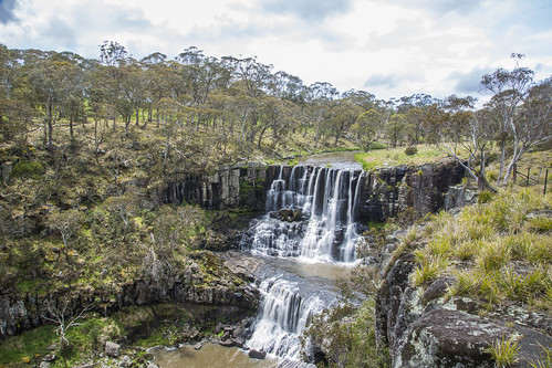 road waterfall newengland australia upper nsw ebor