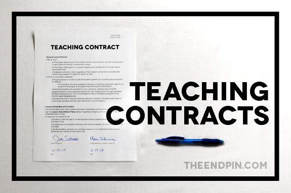 Teaching Contracts Title