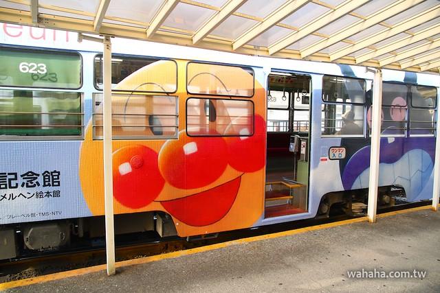 とさでん交通「アンパンマン電車」623号