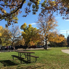 Fall day at the park. #nofilter