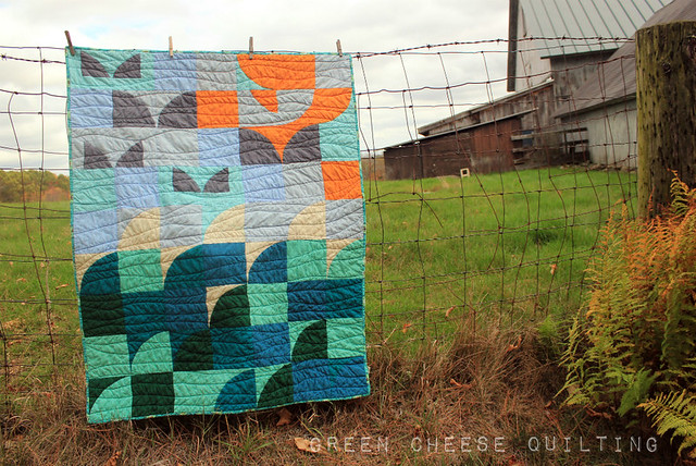 Seaside Baby Quilt