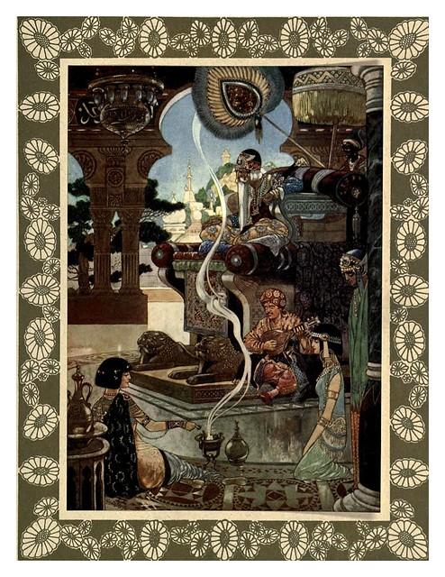 004-Rubáiyát of Omar Khayyám-1913- Ilustrado por René Bull