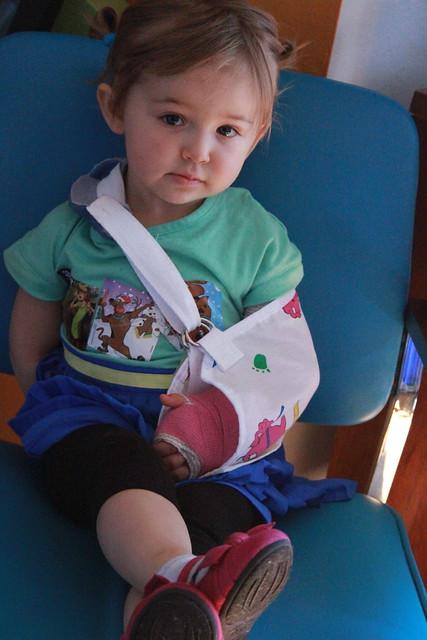 Elise broken arm