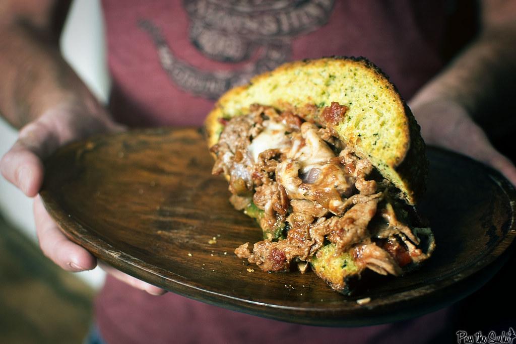 Messy Steak Sandwiches || GirlCarnivore.com