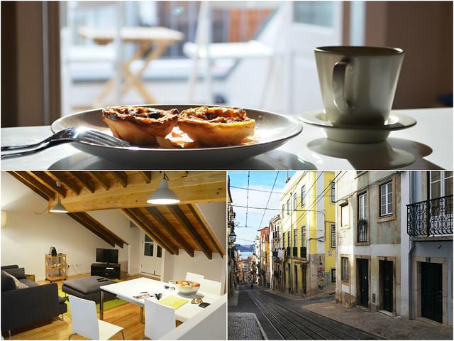 Apartment, Bairro Alto, Lisbon, Montage 1