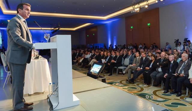 Francisco Pérez abrió el 37° Congreso Internacional de la Viña y el Vino