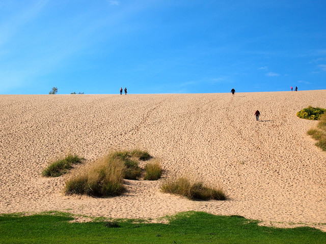 Dune Climb at Sleeping Bear Dunes National Lakeshore, Michigan