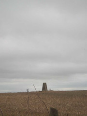 Trig point on Watership Down