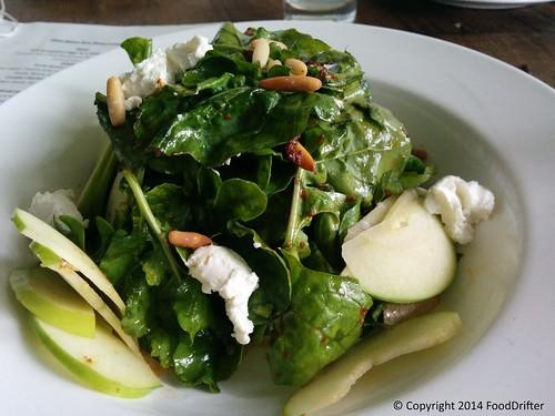 Apple, Pinenut And Feta Cheese Salad