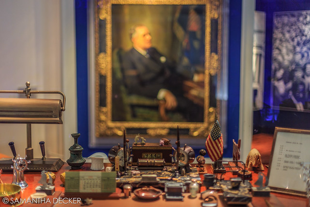 FDR's Desk (Close Up)