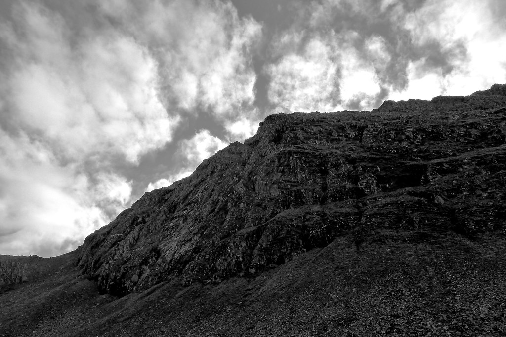 Cliffs of Beinn Dearg
