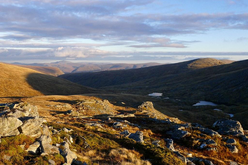 East from Eididh nan Clach Geala