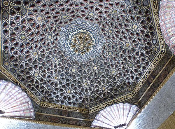 Le plafond oriental