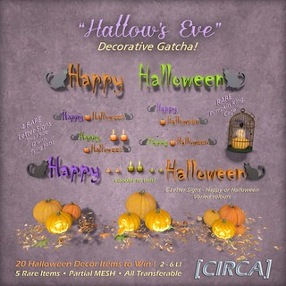 [CIRCA] - _Hallow's Eve_ - Decorative Gatcha