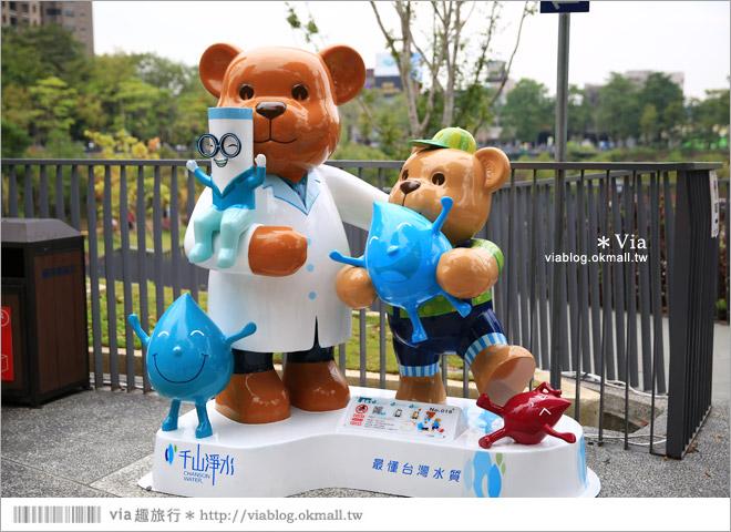 【台中泰迪熊2014】台中泰迪熊嘉年華(秋紅谷展區)~大熊牽小熊,萌翻大台中!42