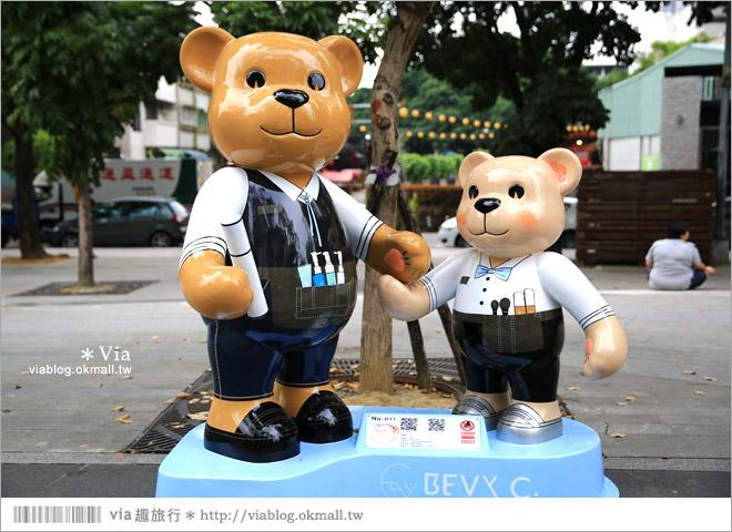 【台中泰迪熊草悟道】台中泰迪熊展2014地點(草悟道篇)~熊可愛‧親子熊超卡哇依!17