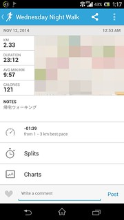 20141111_RunKeeper(Walking)