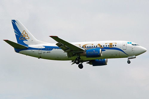 Aircraft (B735) silhouette