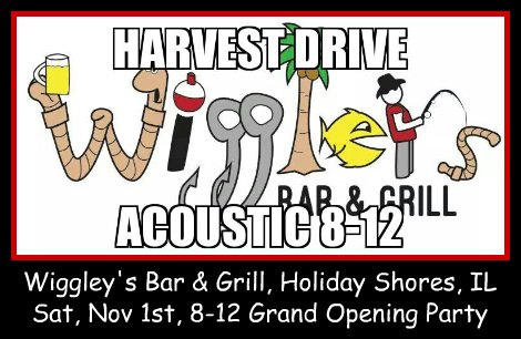 Harvest Drive 11-1-14 Grand Opening Party