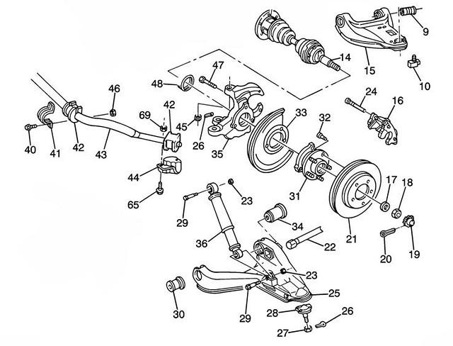 Blazer 4wd Steering Knuckle Diagram