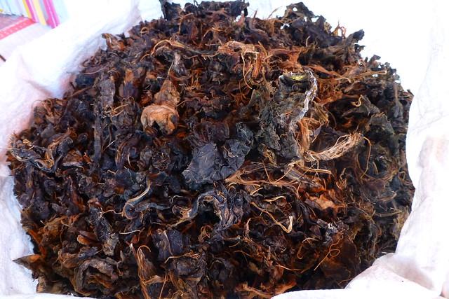 Gundruk Fermented dried greens