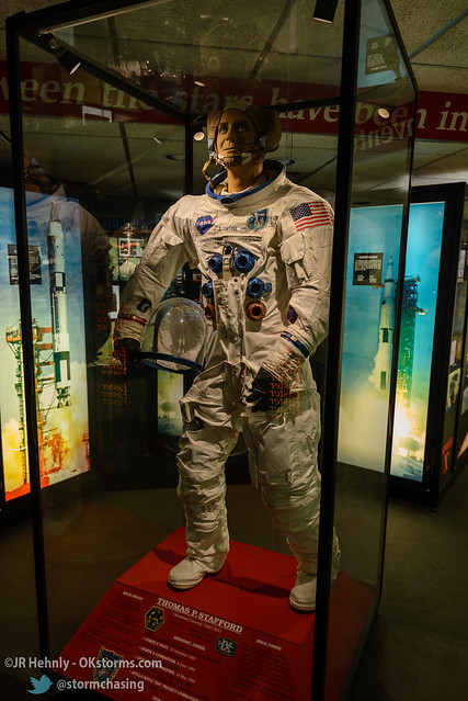 Sun, 10/26/2014 - 14:50 - How Stafford would have apperaed in his Apollo 10 space suit. - Stafford Air and Space Museum - October 26, 2014 2:50:02 PM - Weatherford, Oklahoma (35.5447,-98.6700)