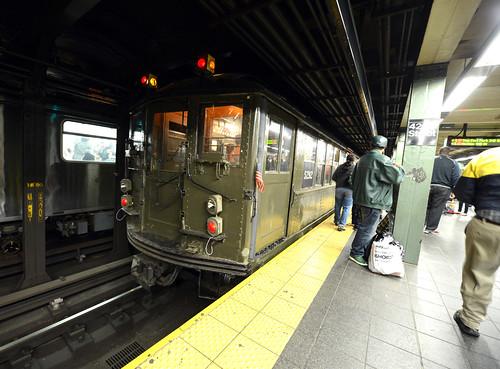 Nostalgia Trains Mark Subways' 110th Anniversary