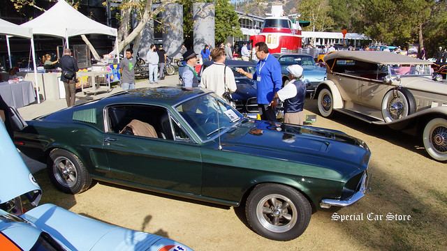 1968 Ford Mustang Fastback Tribute to Bullitt Movie Icons Award