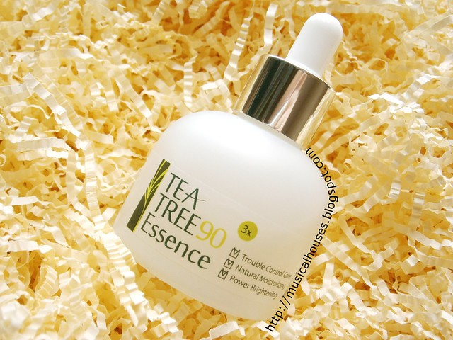 LJH Cosmetics Tea Tree Essence Bottle
