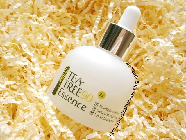 LJH Cosmetics Tea Tree Essence Bottle