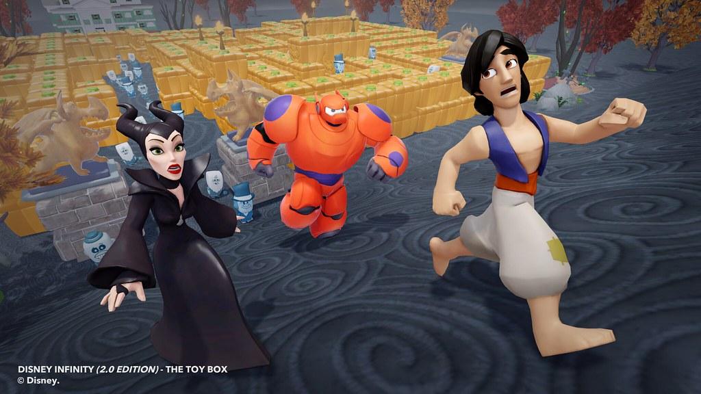 En Disney Infinity 2.0: Marvel Super Heroes también se celebra Halloween 2