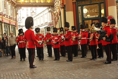 Military Band Leadenhall Market
