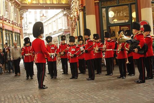 Military Band Leadenhall Market