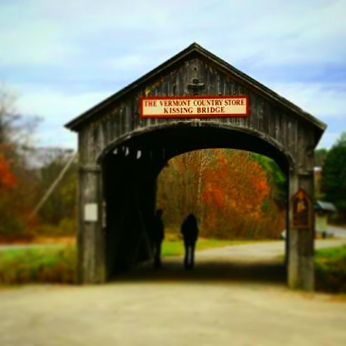 road bridge autumn fall nature rural landscape vermont country fallfoliage coveredbridge uploaded:by=instagram