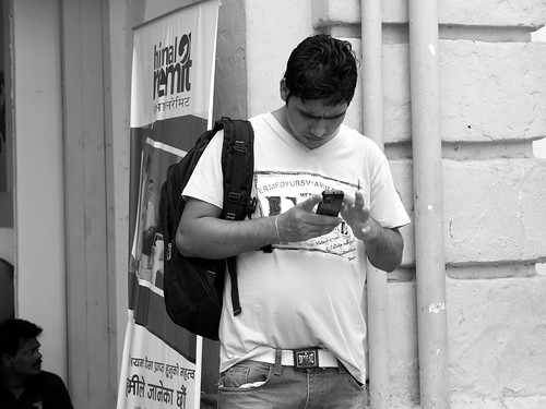 Messaging Time | KL Street Photowalk.03