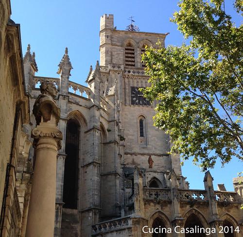 Beziers Kathedrale aussen